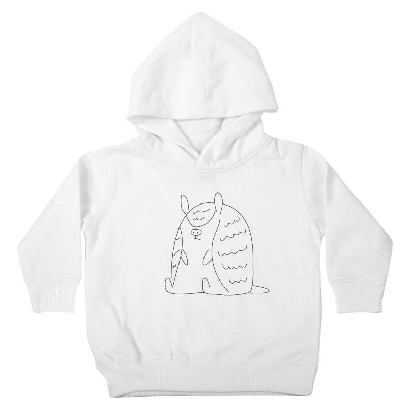 Armadillo Kids Toddler Pullover Hoody by Casandra Ng