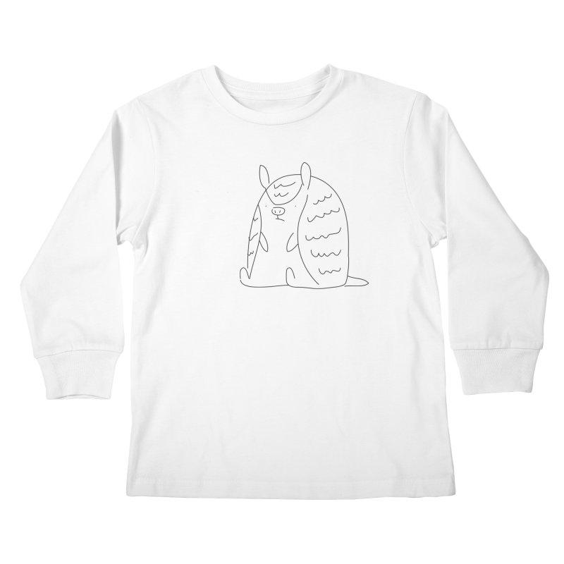 Armadillo Kids Longsleeve T-Shirt by Casandra Ng