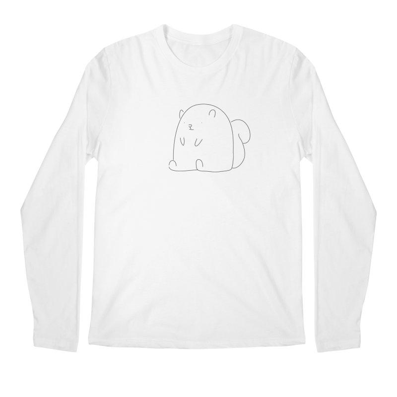Squirrel Men's Longsleeve T-Shirt by Casandra Ng