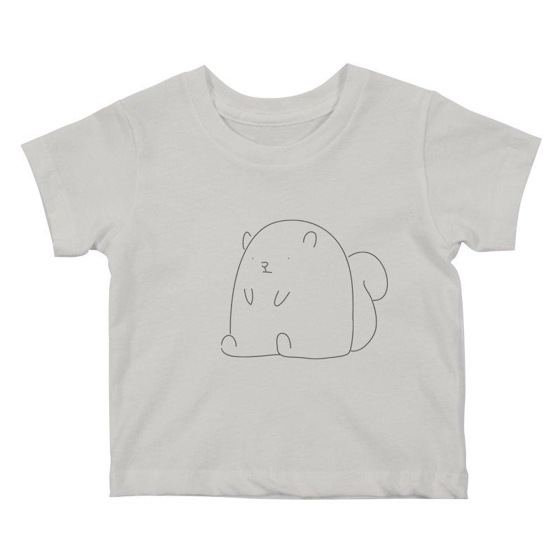 Squirrel Kids Baby T-Shirt by Casandra Ng