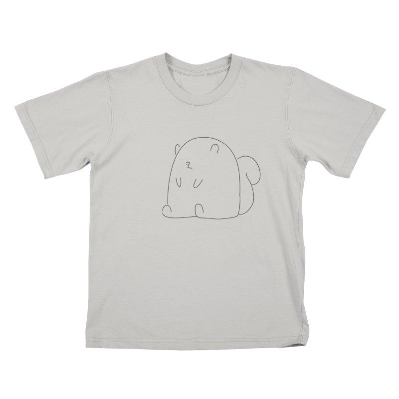 Squirrel Kids T-Shirt by Casandra Ng