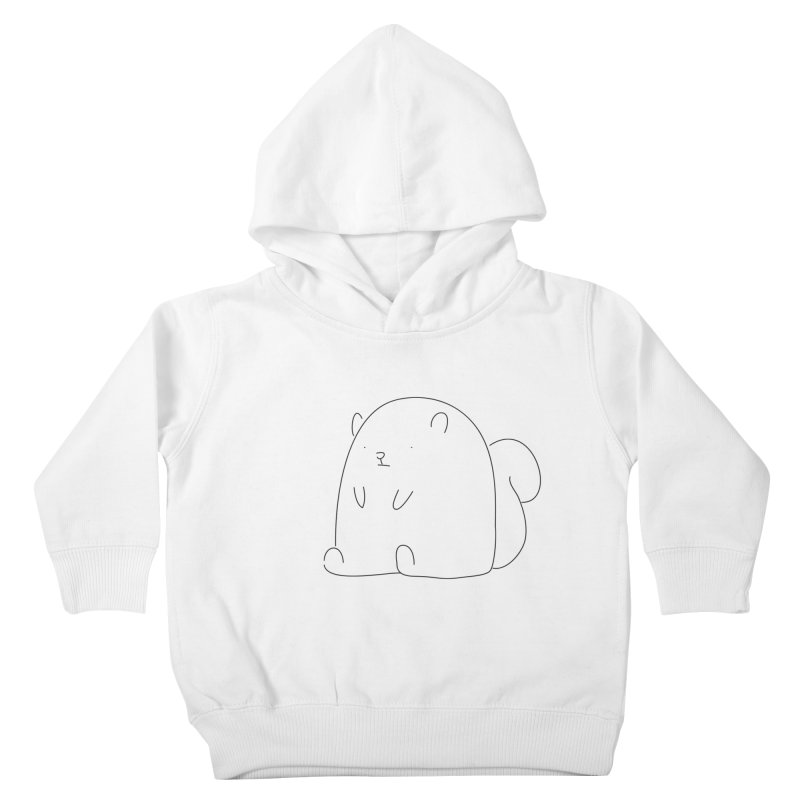 Squirrel Kids Toddler Pullover Hoody by Casandra Ng