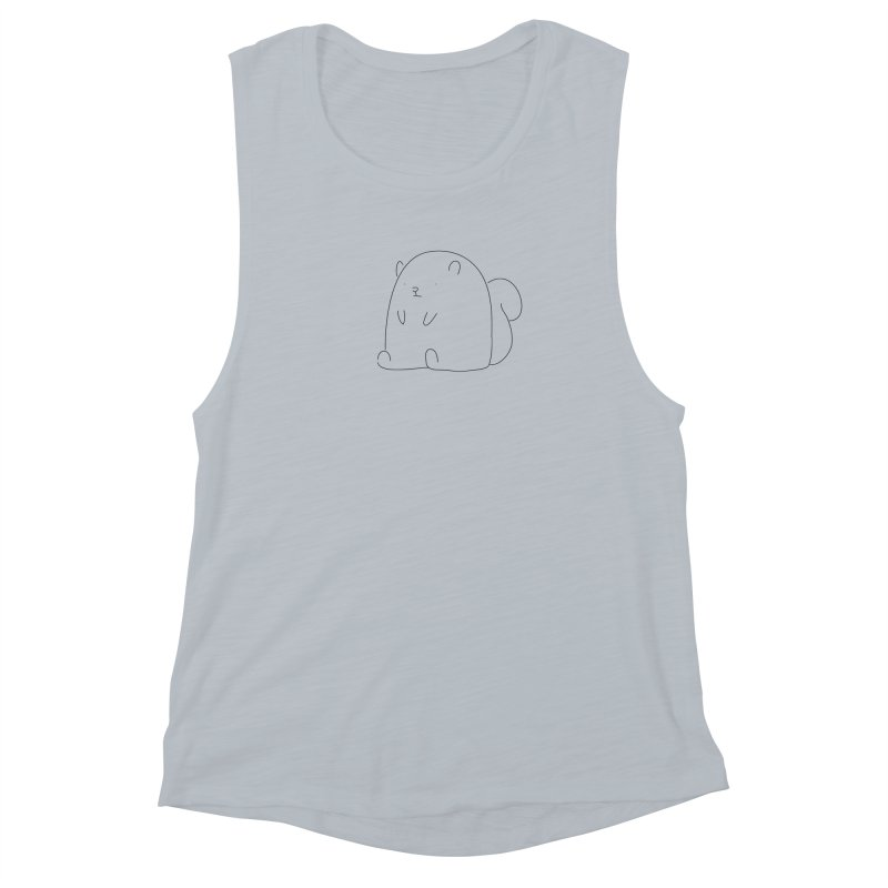 Squirrel Women's Muscle Tank by Casandra Ng