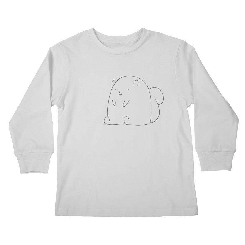 Squirrel Kids Longsleeve T-Shirt by Casandra Ng
