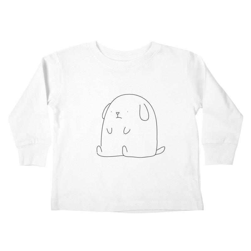 Dog Kids Toddler Longsleeve T-Shirt by Casandra Ng