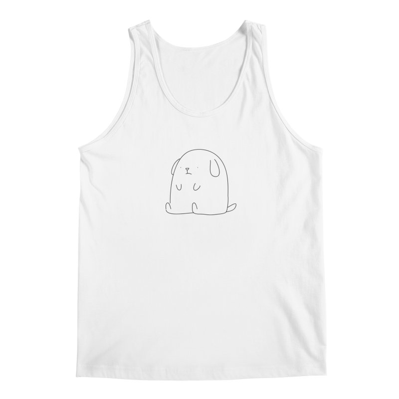 Dog Men's Tank by Casandra Ng