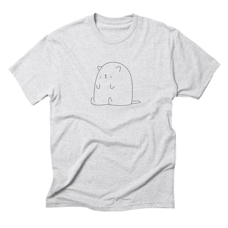 Cat Men's Triblend T-shirt by Casandra Ng
