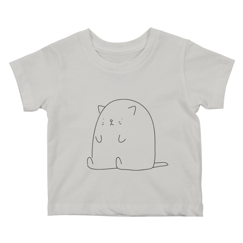 Cat Kids Baby T-Shirt by Casandra Ng