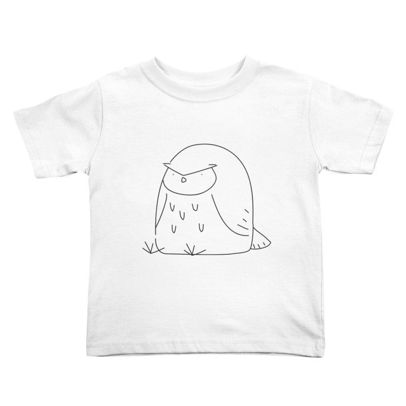 Owl Kids Toddler T-Shirt by Casandra Ng
