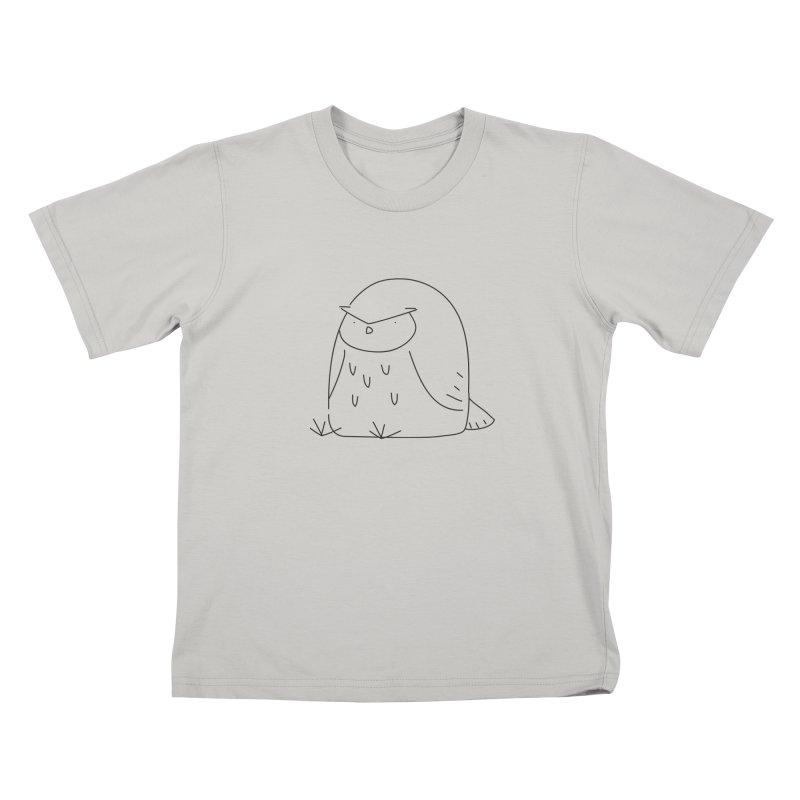 Owl Kids T-Shirt by Casandra Ng