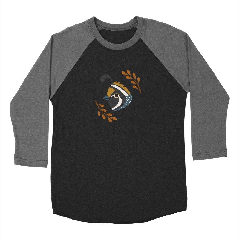 Quail Women's Baseball Triblend T-Shirt by Casandra Ng