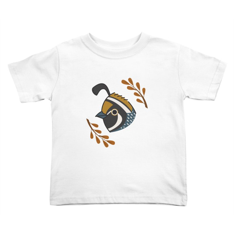 Quail Kids Toddler T-Shirt by Casandra Ng