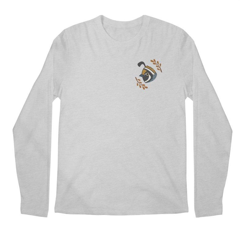 Quail Men's Regular Longsleeve T-Shirt by Casandra Ng