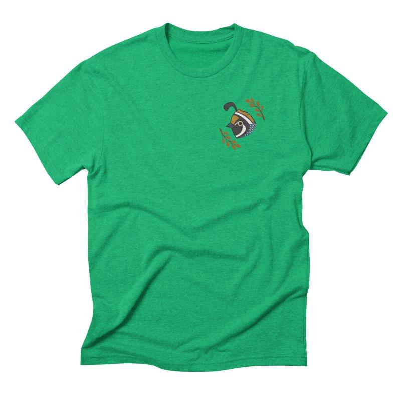 Quail Men's Triblend T-Shirt by Casandra Ng