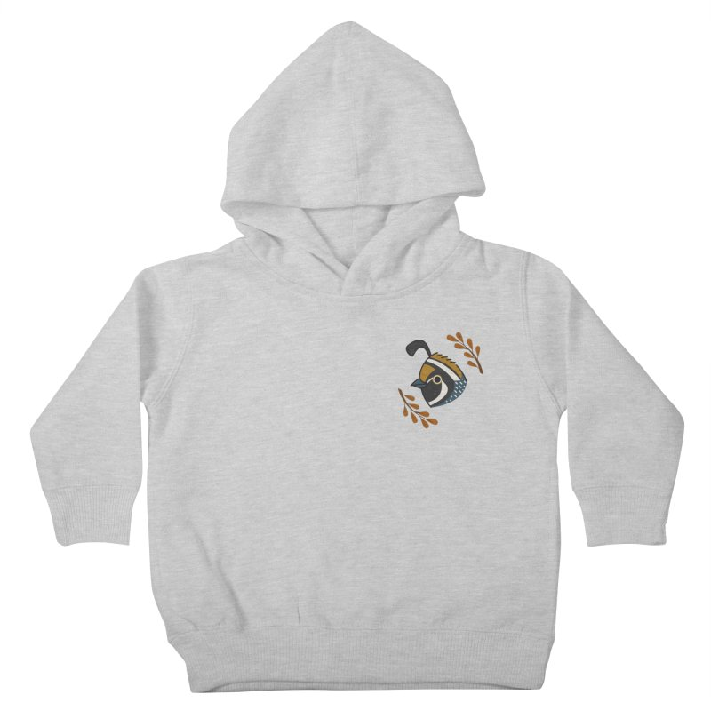 Quail Kids Toddler Pullover Hoody by Casandra Ng
