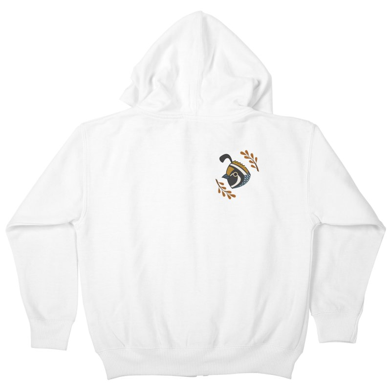 Quail Kids Zip-Up Hoody by Casandra Ng