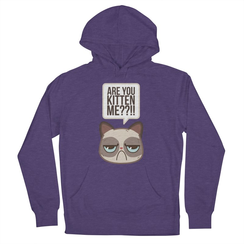 Are you kitten me? Women's Pullover Hoody by Casandra Ng
