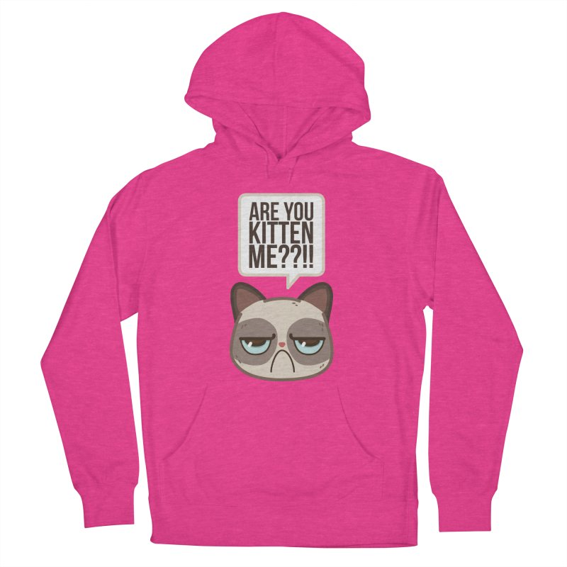 Are you kitten me? Men's Pullover Hoody by Casandra Ng