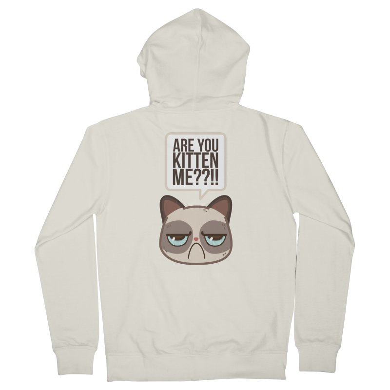 Are you kitten me? Women's Zip-Up Hoody by Casandra Ng