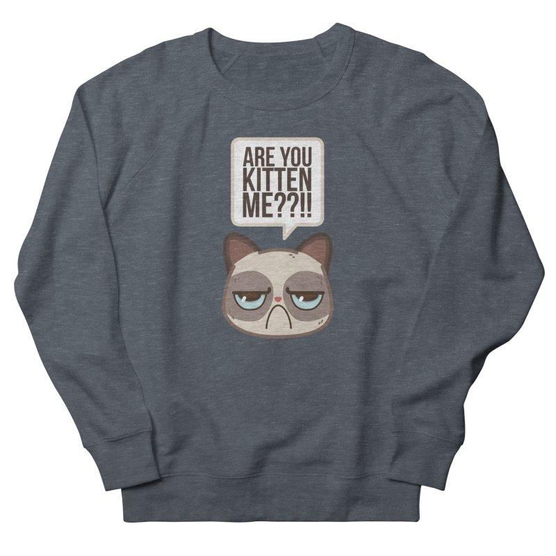 Are you kitten me? Men's Sweatshirt by Casandra Ng
