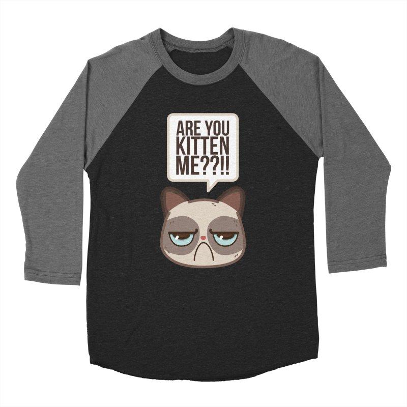 Are you kitten me? Women's Baseball Triblend T-Shirt by Casandra Ng