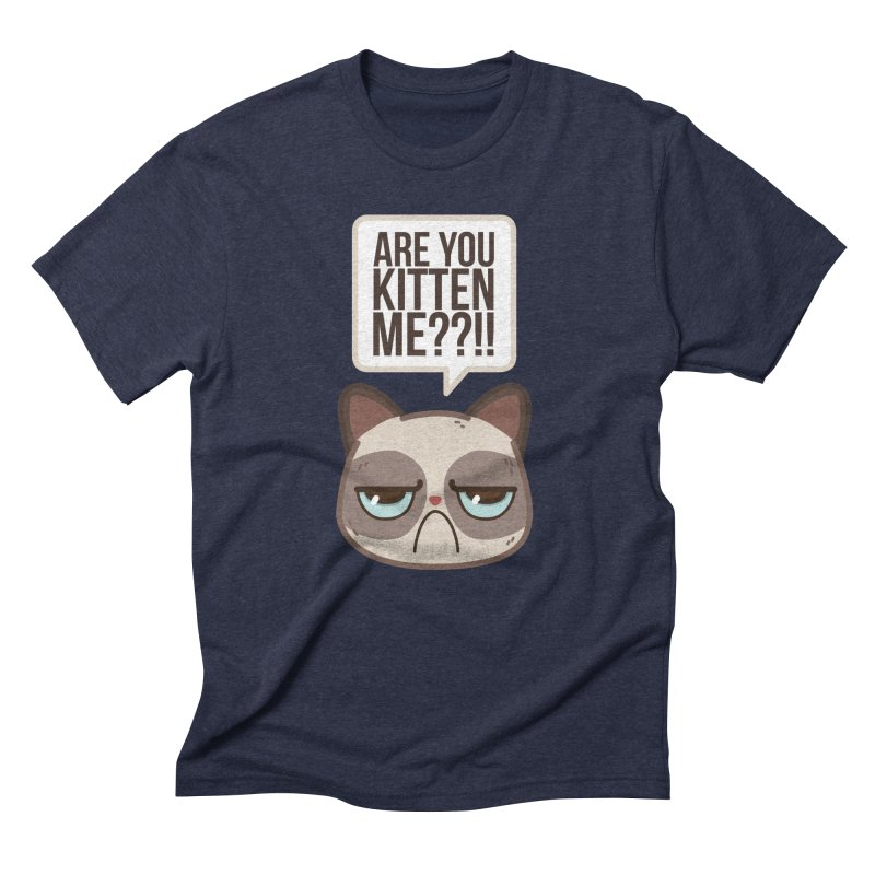 Are you kitten me? Men's Triblend T-shirt by Casandra Ng