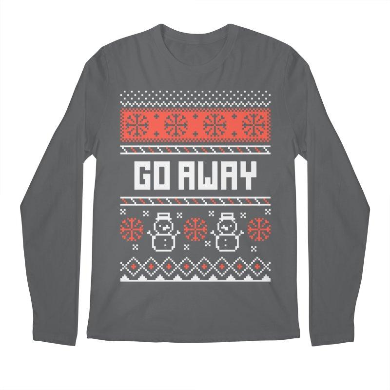 Go Away Men's Regular Longsleeve T-Shirt by Casandra Ng