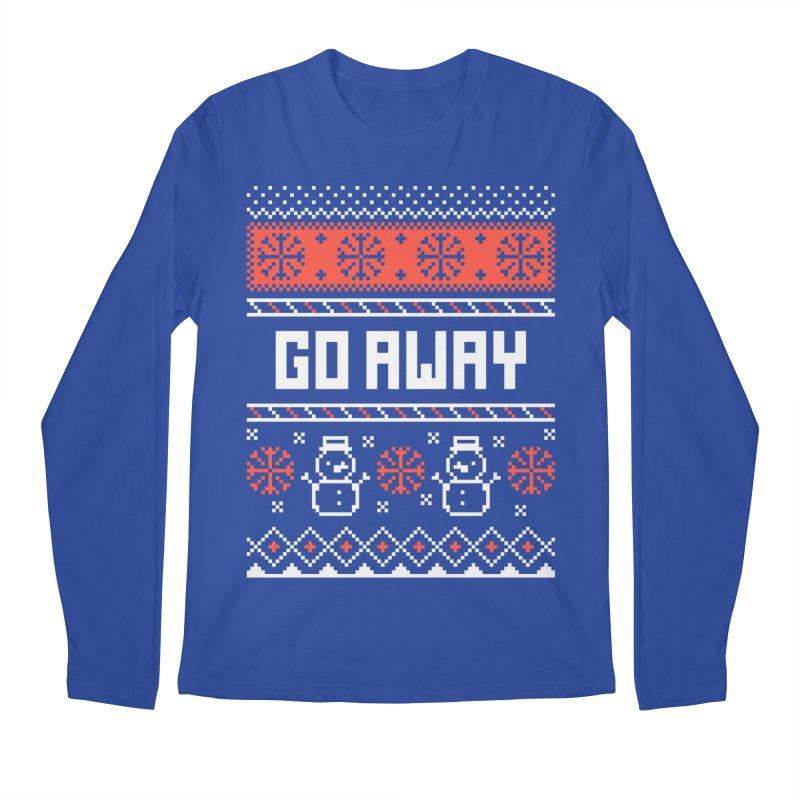 Go Away Men's Longsleeve T-Shirt by Casandra Ng