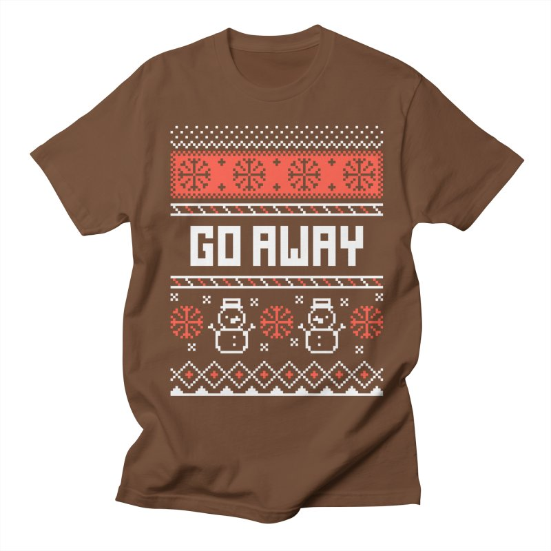 Go Away Men's T-Shirt by Casandra Ng