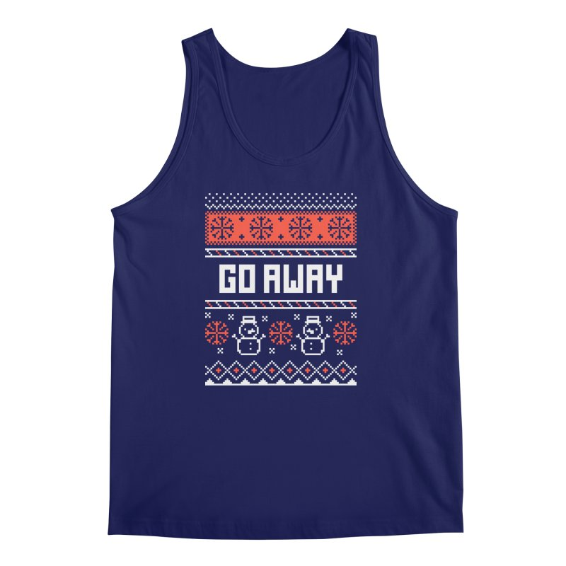 Go Away Men's Tank by Casandra Ng