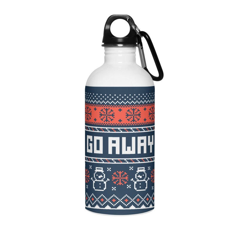 Go Away Accessories Water Bottle by Casandra Ng