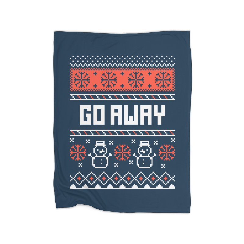 Go Away Home Blanket by Casandra Ng