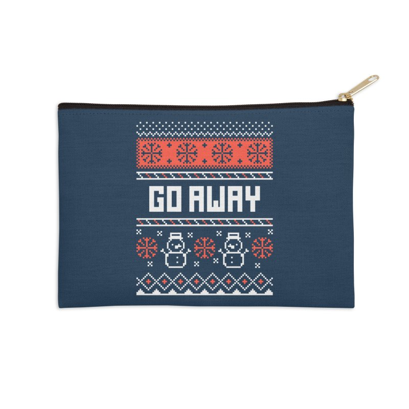 Go Away Accessories Zip Pouch by Casandra Ng