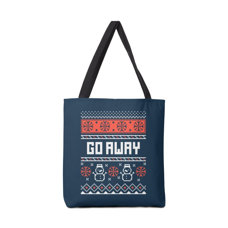 Go Away Accessories Bag by Casandra Ng