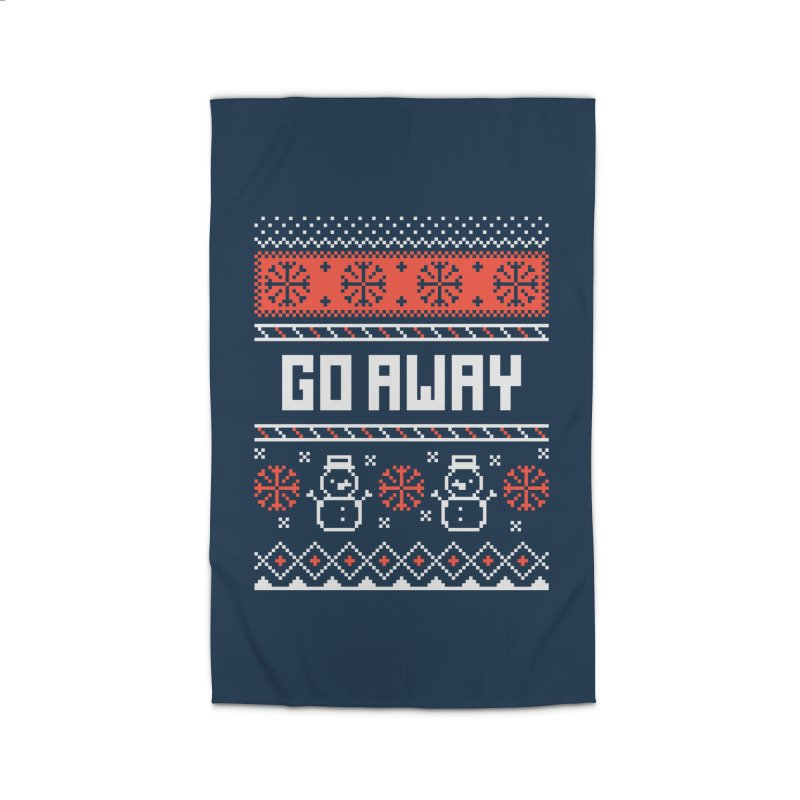 Go Away Home Rug by Casandra Ng