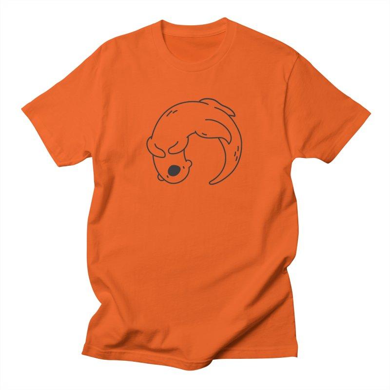 Otter Men's T-shirt by Casandra Ng