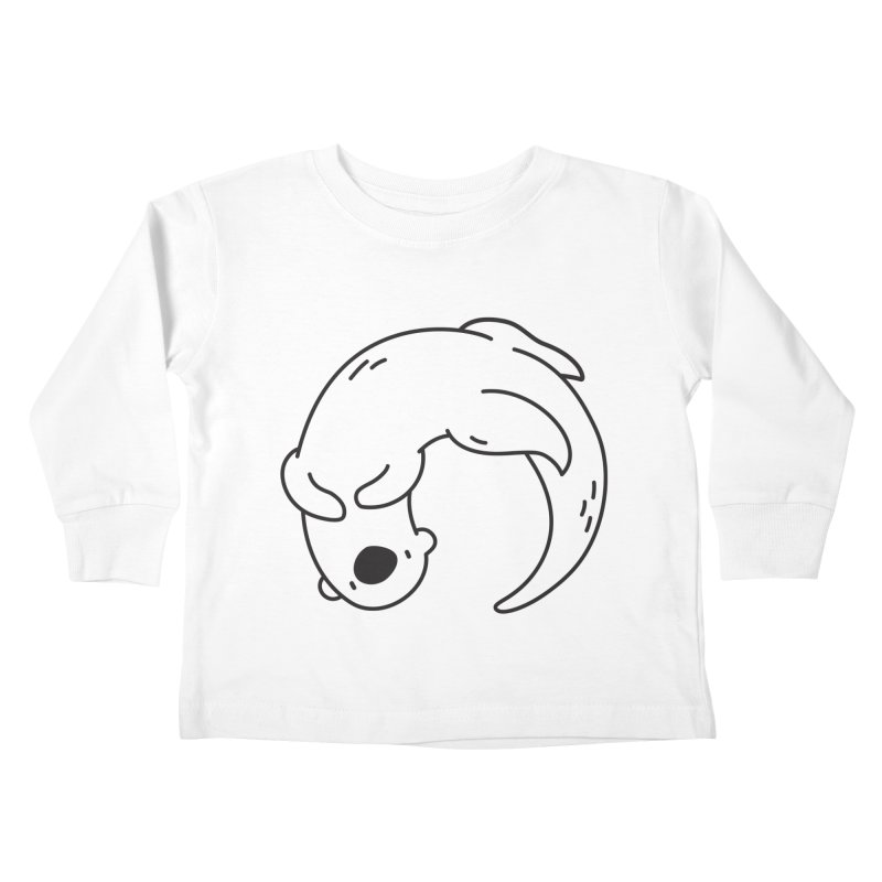 Otter Kids Toddler Longsleeve T-Shirt by Casandra Ng