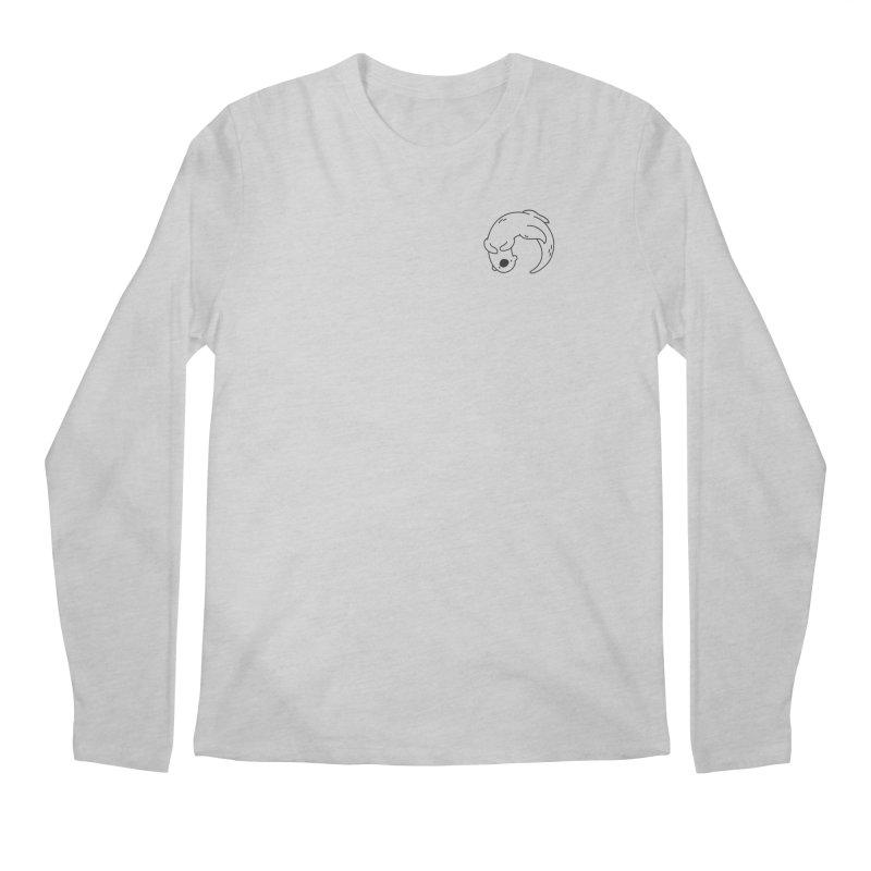 Otter Men's Regular Longsleeve T-Shirt by Casandra Ng