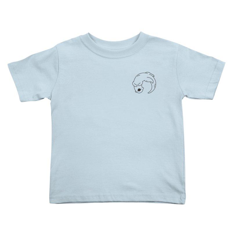 Otter Kids Toddler T-Shirt by Casandra Ng
