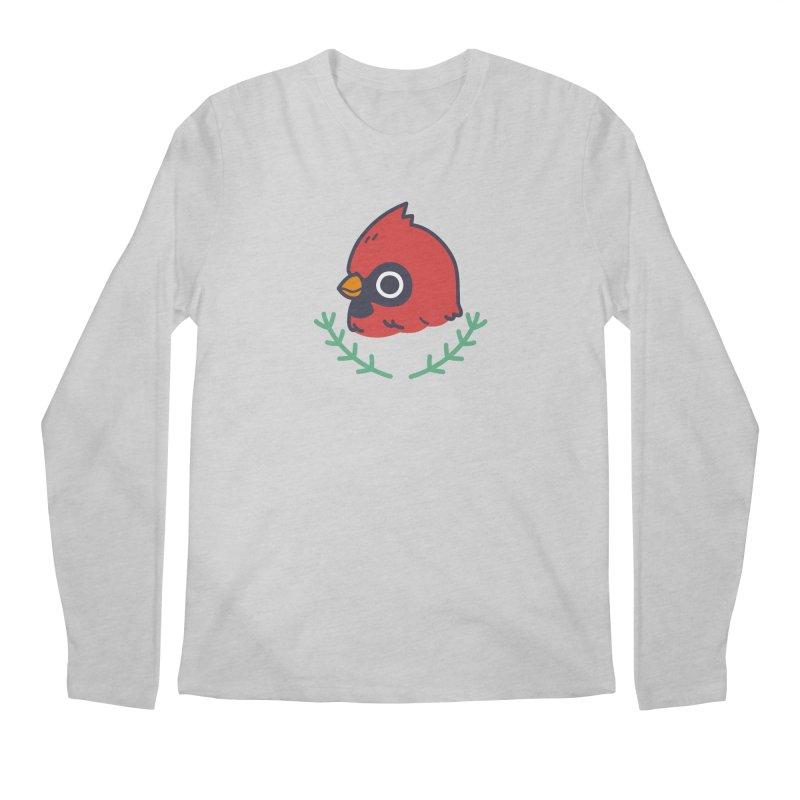 cardinal Men's Regular Longsleeve T-Shirt by Casandra Ng