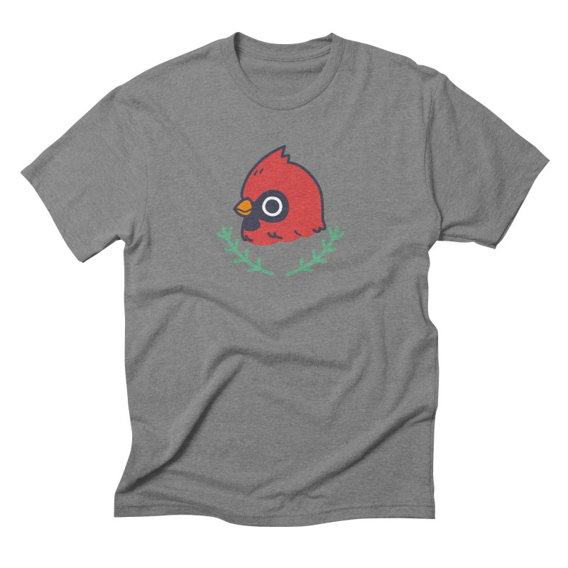 cardinal Men's Triblend T-Shirt by Casandra Ng