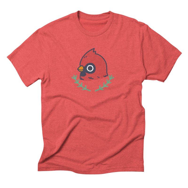 cardinal Men's Triblend T-Shirt by Casandra Ng