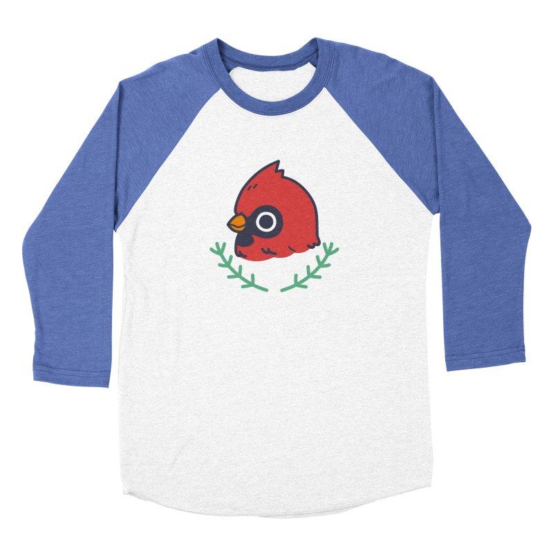 cardinal Men's Baseball Triblend T-Shirt by Casandra Ng