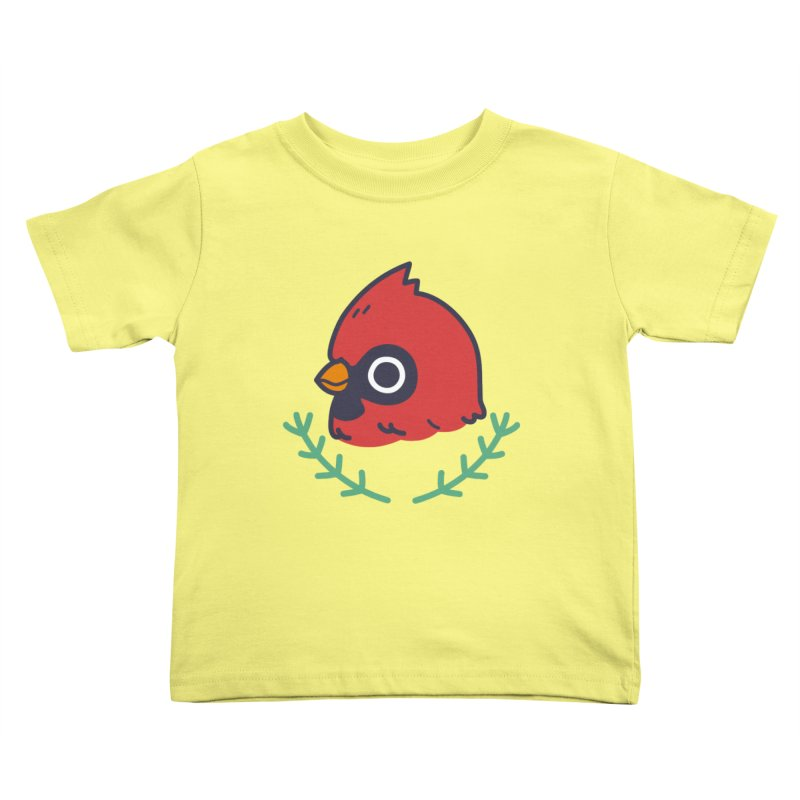cardinal Kids Toddler T-Shirt by Casandra Ng