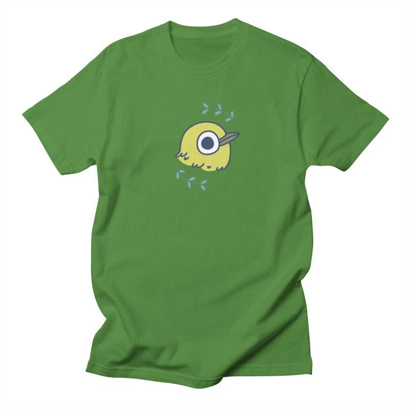 oriental white-eye Men's T-shirt by Casandra Ng