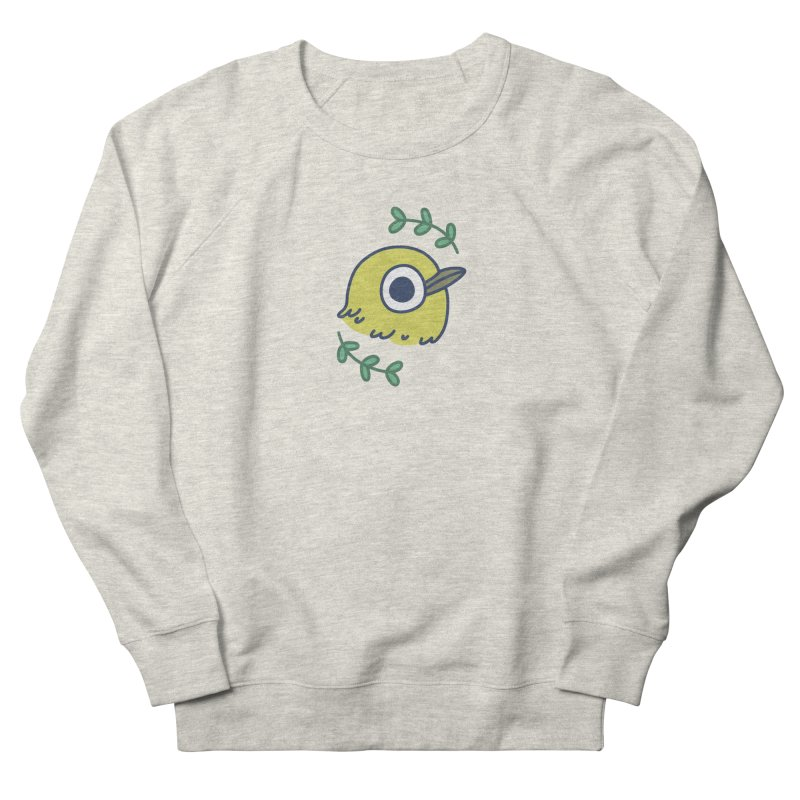 oriental white-eye Women's Sweatshirt by Casandra Ng