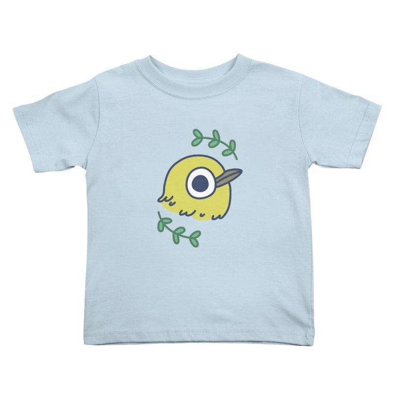oriental white-eye Kids Toddler T-Shirt by Casandra Ng