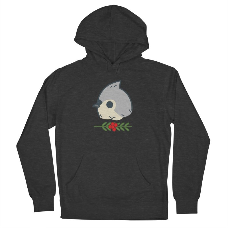 tufted titmouse Women's Pullover Hoody by Casandra Ng