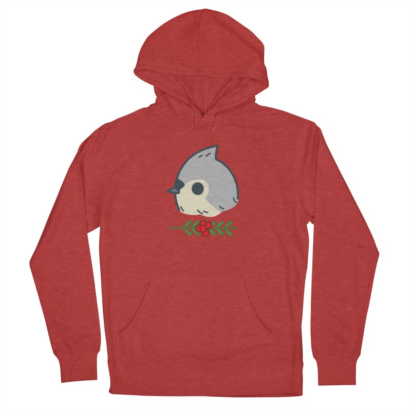 tufted titmouse Men's Pullover Hoody by Casandra Ng