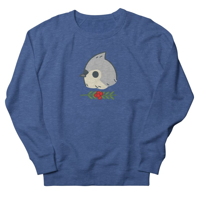 tufted titmouse Women's Sweatshirt by Casandra Ng